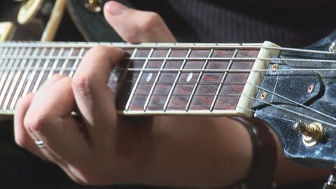 guitare 15 Stock Video Footage