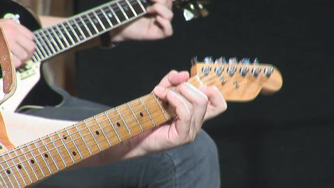 guitare 21 Stock Video Footage
