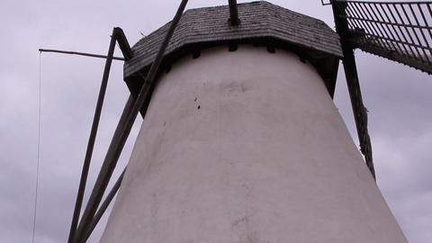 An Old Windmill stock footage