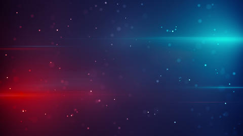 blue red lights and particles modern loopable back Animation