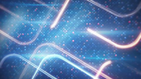 light streaks digital technology loopable backgrou Animation