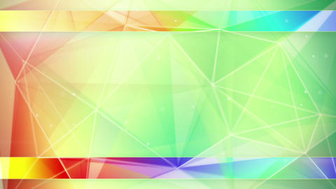 colorful triangles abstract geometrical background Animation