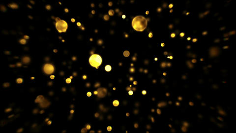 abstract b gold Stock Video Footage