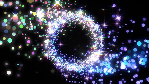 Particles Glitter 3b Mbw 4k Animation