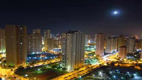 Night City Timelapse Footage