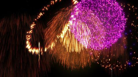 Fireworks Festival 2 C 4k Animation