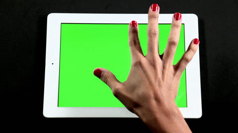 Touch Green Screen Gestures 0