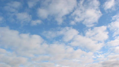 Midday clouds time-lapse 26 Stock Video Footage