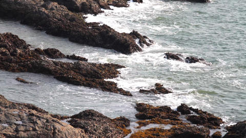 landscapes end sea Stock Video Footage