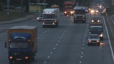 traffic 6 Stock Video Footage