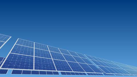 Solar Panel A2B HD Stock Video Footage
