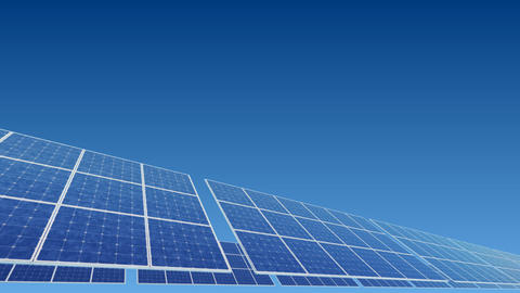 Solar Panel A2B HD Stock Video Footage