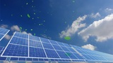 Solar Panel A2CG HD stock footage