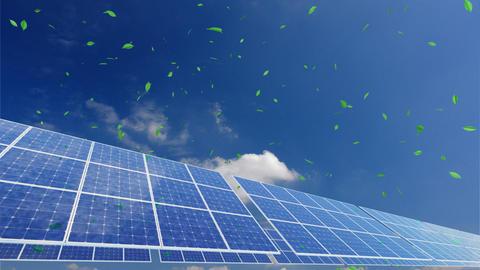Solar Panel A2CG HD Stock Video Footage