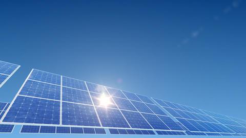 Solar Panel A2L HD Stock Video Footage