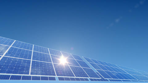 Solar Panel A2L HD Stock Video Footage