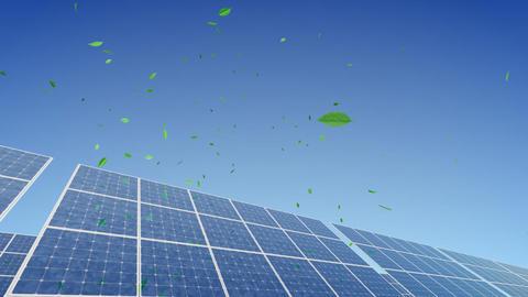 Solar Panel B2G1 HD Stock Video Footage