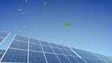 Solar Panel B2G1 HD stock footage
