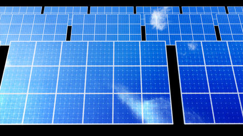 Solar Panel D2C HD Stock Video Footage