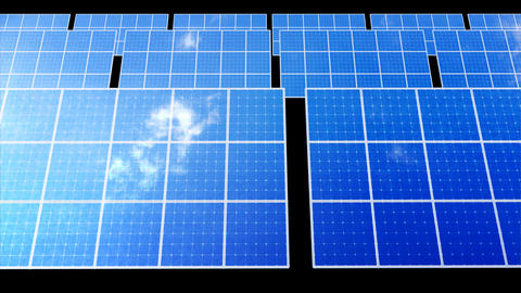 Solar Panel D2C HD Stock Video Footage