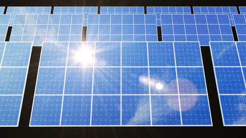 Solar Panel D2L HD Stock Video Footage