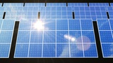Solar Panel D2L HD stock footage