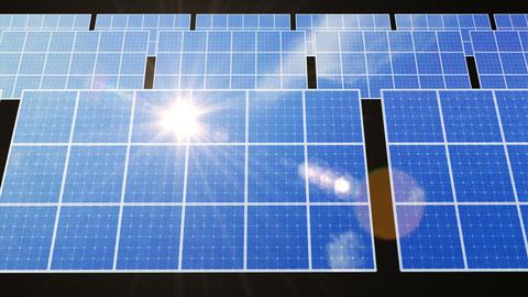 Solar Panel D2L HD Stock Video Footage