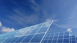 Solar Panel E2C HD stock footage