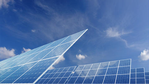 Solar Panel E2C HD Animation