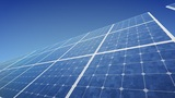 Solar Panel F2B HD stock footage
