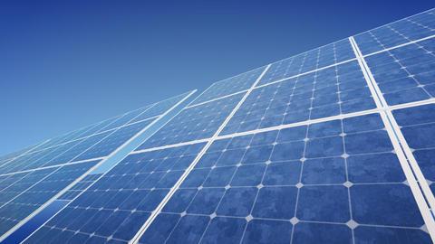 Solar Panel F2B HD Stock Video Footage