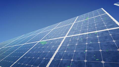 Solar Panel F2G HD Stock Video Footage