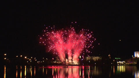 Fireworks show a1 Footage
