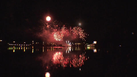 Fireworks show a6 Footage