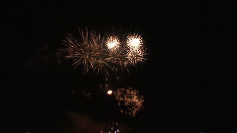Fireworks show b5 Stock Video Footage