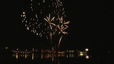 Fireworks show 1 Footage