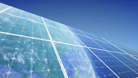 Solar Panel Earth F3B HD Animation