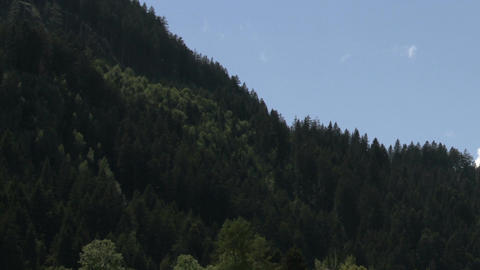 Clouds Timelapse 12 alps Stock Video Footage
