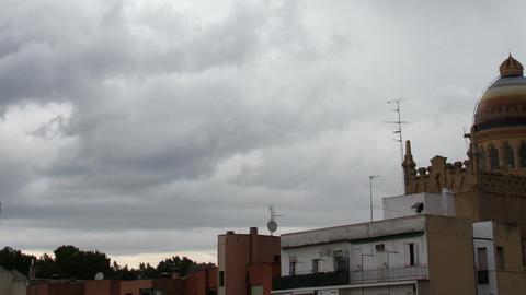 European Scene Clouds Timelapse 08 Stock Video Footage