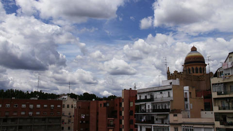 European Scene Clouds Timelapse 04 Stock Video Footage