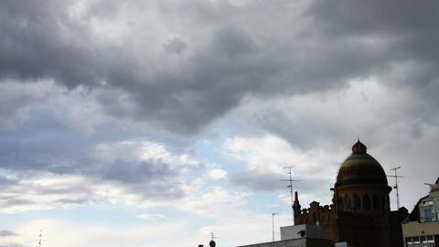 European Scene Clouds Timelapse 06 Stock Video Footage