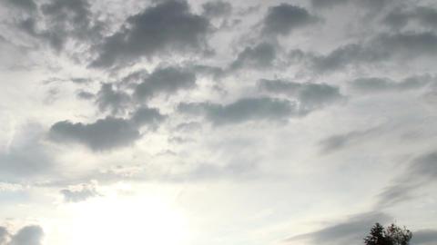 Fantastic Clouds Timelapse 06 godrays Footage