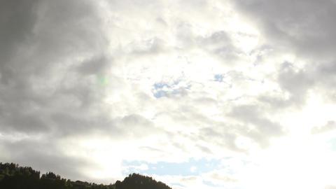 Fantastic Clouds Timelapse 12 godrays Footage