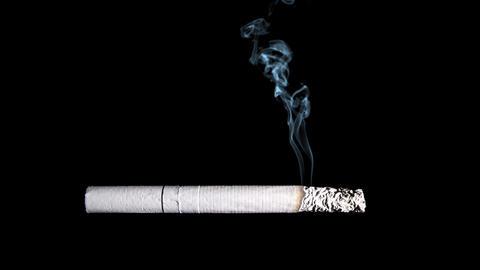 Cigarette stock footage
