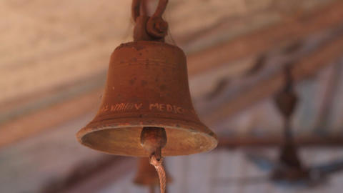 Bell in Church Stock Video Footage