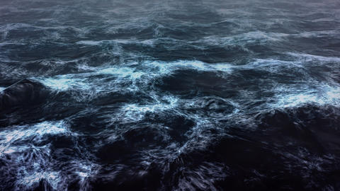 Dark sea render Animation