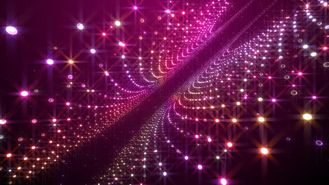 Disco Tunnel F1BC1 HD Stock Video Footage