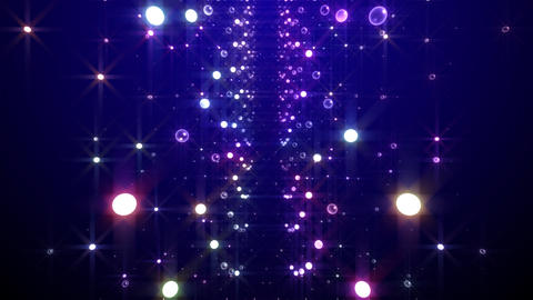 Disco Tunnel F1LB1 HD Stock Video Footage