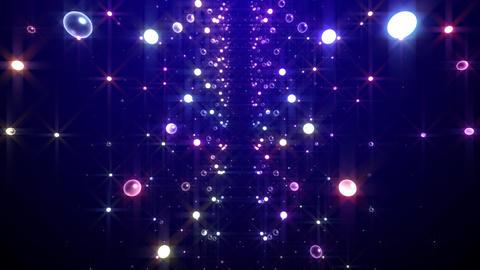 Disco Tunnel F1LB1 HD Stock Video Footage