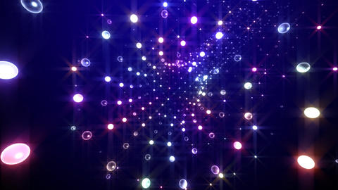 Disco Tunnel C1LC1 HD Stock Video Footage